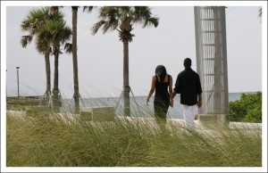 South Pointe Park LifeStyle Photography Over Looking Biscayne Bay - Miami