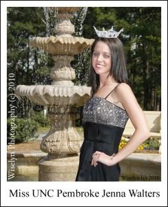 Miss UNC - Pembroke Jenna Walters - Southern Pines, NC